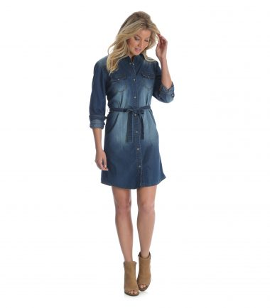 Wrangler Women's Dress Denim Jacket Stampede