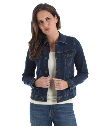 Wrangler Women's Jacket Denim Jacket Stampede