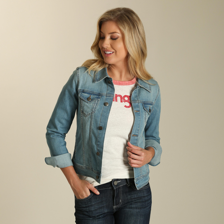092352b7dc ... Wrangler Women s Jacket Denim Jacket Stampede ...