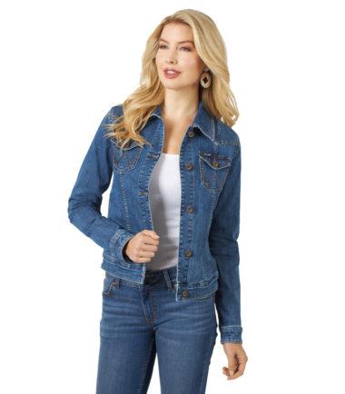 woman's denim jacket