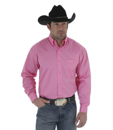 Tough Enough To Wear Pink Men's Western Stampede Shirt