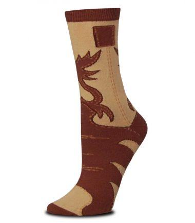 Custom Cowboy Boot Sock Western Stampede