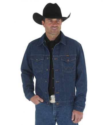 Wrangler Unlined Denim Jean Jacket Stampede