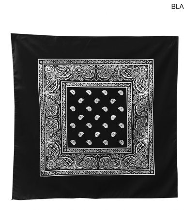 Bandanna Custom Corporate Stampede Black