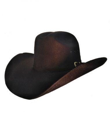 Black Felt Western Cowboy Hat Stampede