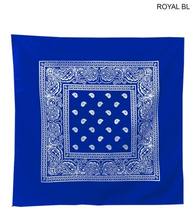Bandanna Custom Corporate Stampede Royal Blue