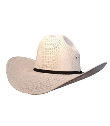 White Straw Cowboy Hat Stampede