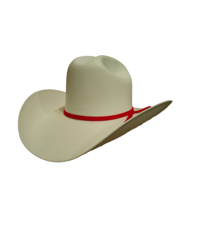 e3736581079f9 Red Deer White Straw Hat - McCormick Western