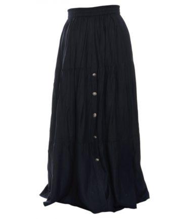 Cowboy Ladies Black Western Dress