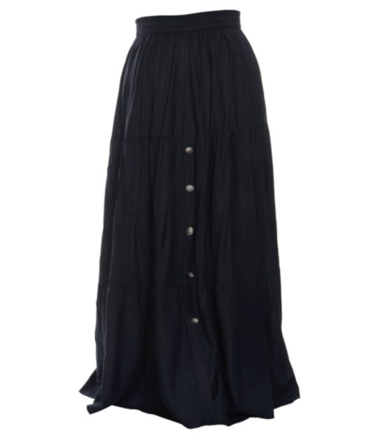 Cowboy Ladies Black Western Dress