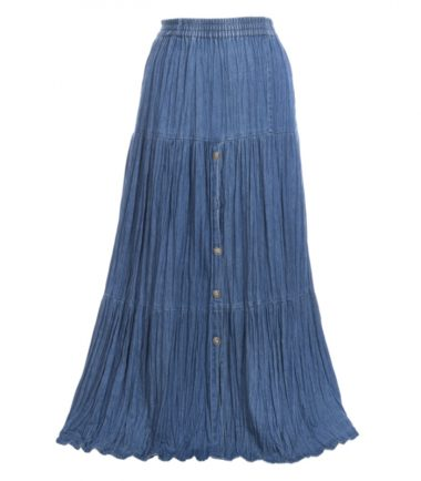 Cowboy Ladies Denim Western Skirt