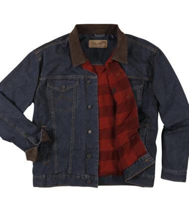 Wrangler Blanket Lined Storm Rider Jacket Western Stampede Comfort