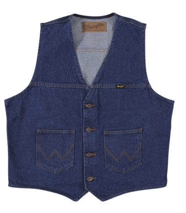 denim vest unlined