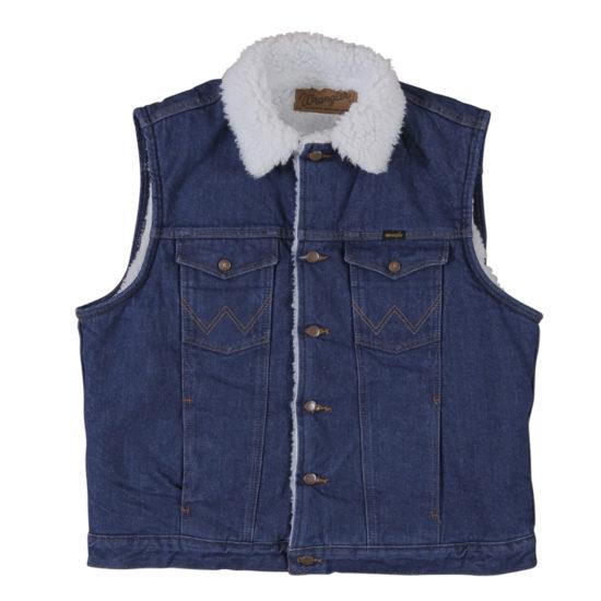 Wrangler® Sherpa Lined Denim Vest