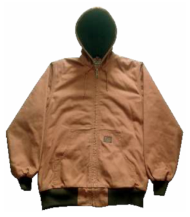 Forge Men's Lined Canvas Hood Jacket Quilted Cotton Work Wear Western