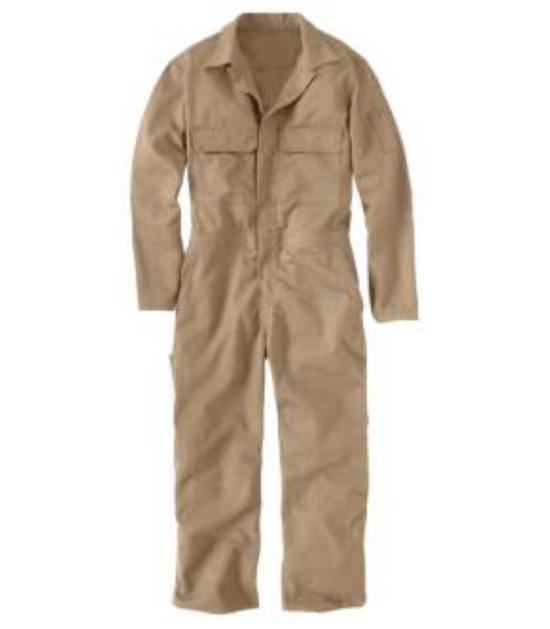 Forge Men's Fire Retardant Work Wear Western Coverall Khaki