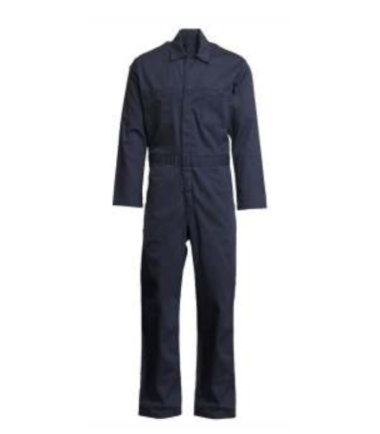 Forge Men's Fire Retardant Work Wear Western Coverall Navy