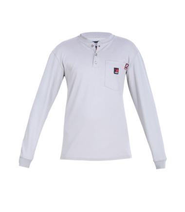 Forge Men's Fire Retardant Henley Long Sleeve Shirt Work Western Wear