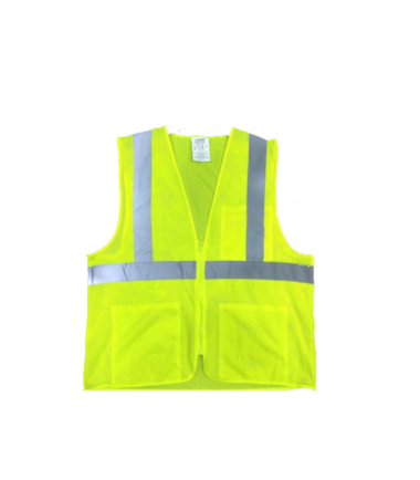 Forge Hi Vis Vest Work Wear Western PPE Yellow Reflective Safety