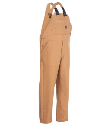 Forge Men's Duck Bib Fire Retardant Overalls Western Work Wear