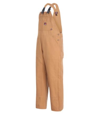 Forge Men's Duck Bib Fire Retardant Overalls Western Work Wear