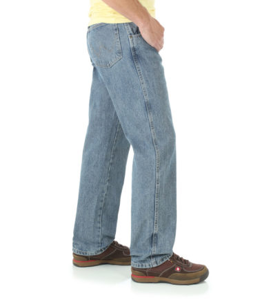 Wrangler Rugged Wear Relaxed Fit Jeans Grey Indigo