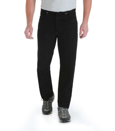 Wrangler Rugged Wear Relaxed Fit Jeans Black