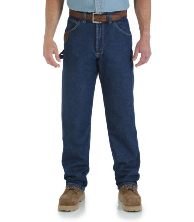 Wrangler Riggs Work Wear Utility Jean Denim Western Antique Indigo