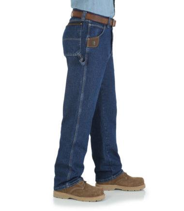 Wrangler Riggs Work Wear Utility Jean Denim Western Antique Indigo