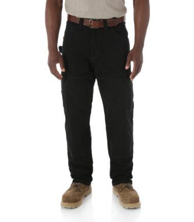 Wrangler Riggs Work Wear Ripstop Ranger Pant Black
