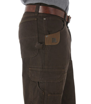 Wrangler Riggs Work Wear Ripstop Ranger Pant Dark-Brown