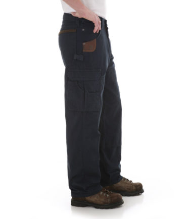 Wrangler Riggs Work Wear Ripstop Ranger Pant Navy