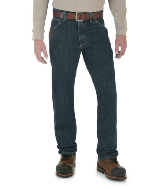 Wrangler Riggs Workwear Advanced Comfort Five Pocket Jean Western Denim Dark