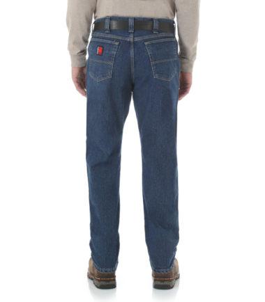 Wrangler Riggs Workwear Advanced Comfort Five Pocket Jean Western Stone Denim