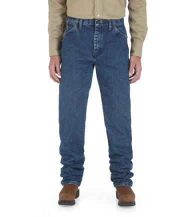 Wrangler FR Original Fit Denim Fit Stone Washed