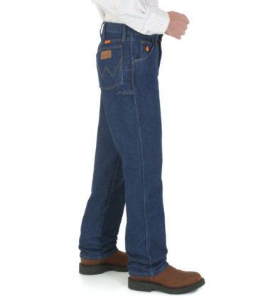 Wrangler FR Relaxed Fit Denim Fit Pre Washed