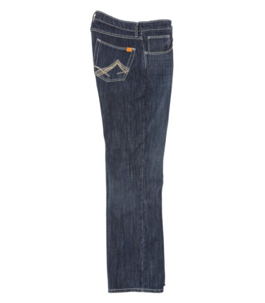 Wrangler FR 20X Vintage Boot Fit Denim Jean Rinse Wash