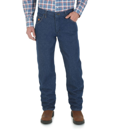 Wrangler FR Regular Fit Denim Fit Pre Washed