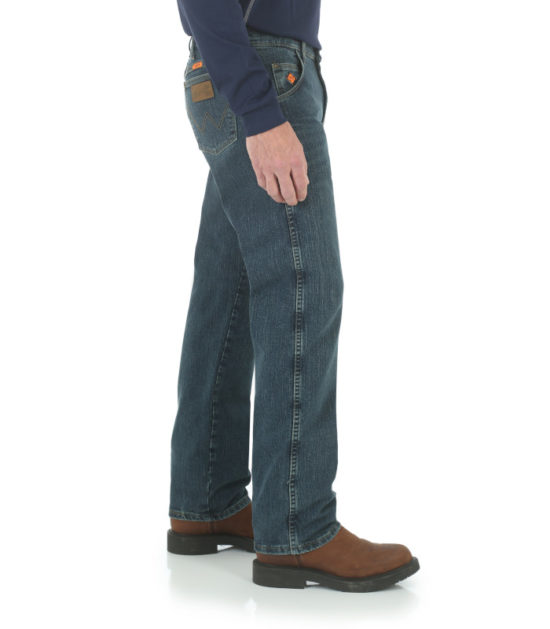 Wrangler FR Advanced Comfort Regular Fit Jean Dark Tint