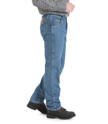 Wrangler FR Cool Vantage Relaxed Fit Jean Stone True Blue