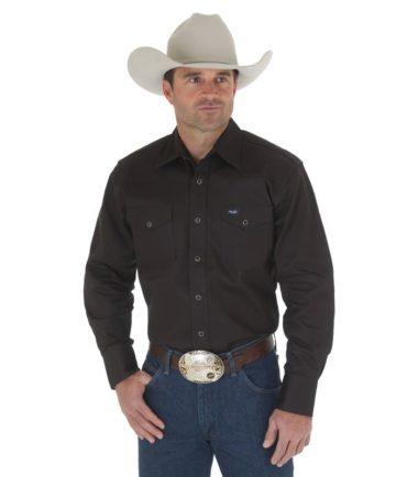 heavy duty work shirt wrangler