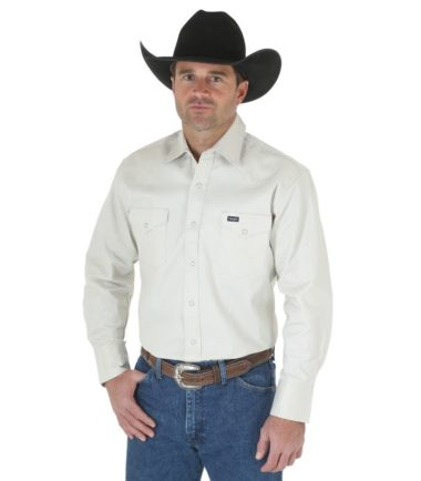 heavy duty stone wrangler shirt