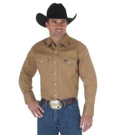 heavy duty wrangler shirt